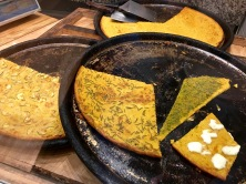 Or how about topping off the fried fish with a slice of farinata -- a fried chickpea bread?