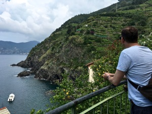 Vineyards, olive trees, lemon groves, and postcard views greeted us all along the trail to Corniglia.