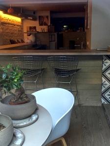 Bokbacka has that chic, minimalist vibe that's so characteristic of many Scandi restaurants.
