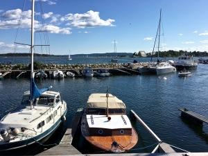 """A """"Snekke"""" or """"Sjekte"""" Vintage Wooden Boat, Oslo, Norway"""