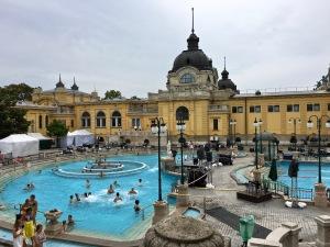 Szécheyni Bath, Budapest, Hungary
