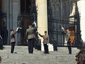 Changing of the Guards, Hungarian Parliament, Budapest