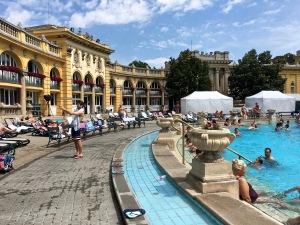 Szécheyni Baths, Budapest, Hungary