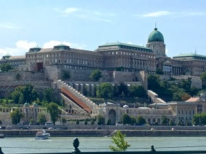 Royal Palace in Buda, Hungary