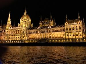 Hungarian Parliament, Danube River