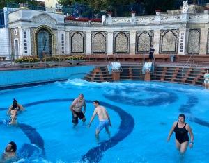 Gellért Bath Wave Pool, Budapest, Hungary