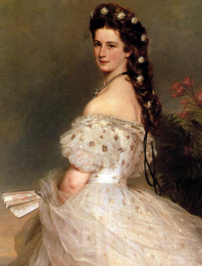 Empress Elizabeth of Austria-Hungary, painted by Franz Xaver Winterhalter