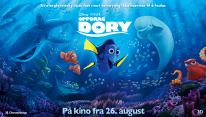 "In ""Oppdrag Dory"" (literally translated as ""Mission Dory""), Dory didn't just learn to speak whale -- she clearly got the hang of Norwegian, too."