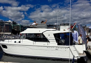 The Swift Trawler, Oslo Boat Show, Aker Brygge