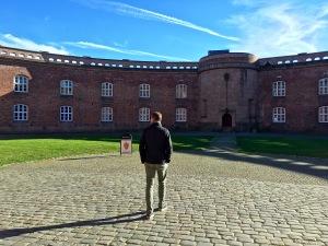 Oscarsborg Fort's inner courtyard