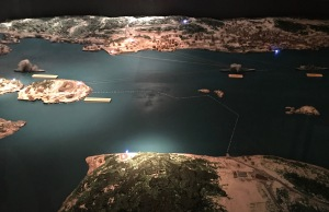 Battle of Drøbak Sound Diorama