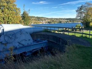 Krupps 28cm gun at Oscarsborg Fort