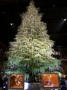 Swarovski Tree in Zurich's Hauptbahnhof (Main Train Station)