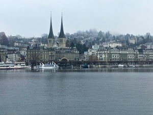 Lake Luzern Shoreline