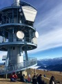 This giant broadcasting tower is now an integral part of Mt. Rigi's identity.