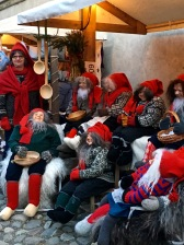 Nisse (the Norwegian version of Santa and his elves) are popular Christmas decorations. Can you pick out which one's the real person?
