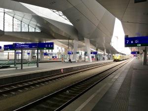 Vienna's Hauptbahnhof