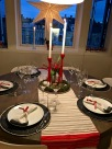 My attempt at a Norwegian holiday table setting.