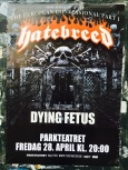"Ahh, you know its spring when Death Metal season starts, and concert posters get slapped on every lamppost in Oslo. Death Metal is traditionally Scandinavian. According to Jim Davis of Quora.com, the so-called ""growl"" or death-growl in the music is often attributed to Viking cultures. When a 10th century Arab merchant visited Denmark, he commented upon their music: ""Never before have I heard uglier songs than those of the Vikings in Slesvig. The growling sound coming from their throats reminds me of dogs howling, only more untamed."""