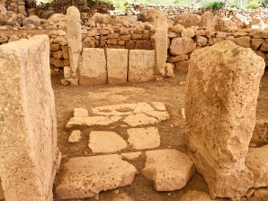The tiny East Temple has an entrance that leads to a kind of altar flanked by stones that track other astronomical phenomena.