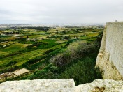 From the walls surrounding Mdina, you can get a good idea of it's defensive position. Legend says that during the 1565 Siege of Malta, the Ottoman Vizier sent a smaller force to Mdina, assuming it would be easy to take, as most of the Knights Hospitallers were busy defending their new capital city. But the knight in charge of Mdina came up with a brilliant plan: he dressed the women and servants in armor and had them stand atop the walls, set off the cannons, and bang their swords against their shields in a noisy show of force that convinced the Turks to retreat.