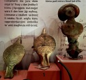 "The foreigners who launched the Early Bronze Age in Malta (2300-1500 B.C.) brought with them new pottery styles, metal tools (copper first, bronze would come later), new burial practices, and new iconography. These discoid figurines found buried with Bronze-Age cremated bodies at Tarxien reveal that ""fat folks"" had been supplanted by a more abstract body type. Incidentally, Malta's Stone Age population appears to have lived peaceful lives, with no signs of warfare. But the Bronze Age newcomers were clearly more warlike, as their weapons and defensive fortresses attest."