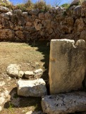 """As you walk through the South Temple, the second apse on your right-hand side holds a circular stone hearth on the floor that shows signs of having been seared and fired over a long time by continuous heat. Perhaps it acted like a kind of """"eternal flame?"""""""
