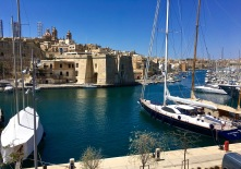 "Looking across from Birgu, you can see the small town of Senglea and its ancient Il-Macina bastion. The name means ""machine,"" referring to the sheer crane once strapped to the bastion to help load the Hospitallers' ships."