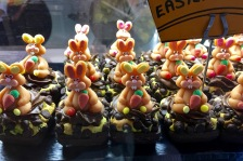 Check out these cute bunny cupcakes at The French Affaire in Sliema. I'm a sucker for cute food.