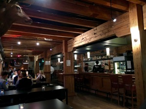 Loved the woodsy interior of Møllebyen Mikrobryggeri and the decent selection of beer.