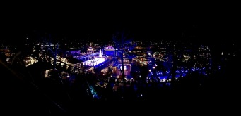 An overview of Liseberg at Christmas -- totally worth a trip!
