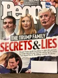 Check out the graffiti someone scribbled on this magazine at my doctor's office. Got 15 minutes to kill in the waiting room? Use the time wisely to deface images of your president.