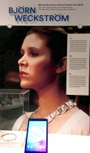 "Finnish designer Björn Weckström of Lapponia Jewelry company gained international fame when his Planetary Valleys necklace graced Princess Leia's neck during the final scene of Star Wars. Who knew Finland would make an impact, ""A long time ago, in a galaxy far, far away...""?"